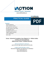 IMOTION Practical Guide Brussels Sept 2014