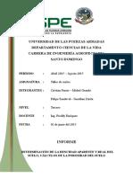 evaluacion completa de un perfil de suelos
