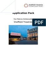 Application Pack Fun Palaces Ambassador 1016