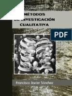 eBook en PDF Metodos de Investigacion Cualitativa