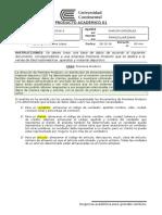 Producto Académico 01 - Diseño de Base de Datos