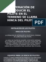 Presentación HINCADO