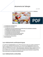 Les Differents Medicaments de l Allergie 1993 o86w75