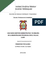 Perfil de Proyecto de Investigacion 1