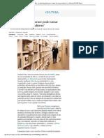 """Umberto Eco_ """"a Internet Pode Tomar o Lugar Do Mau Jornalismo"""" _ Cultura _ EL PAÍS Brasil"""