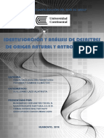 Identificación y Análisis de Desastres