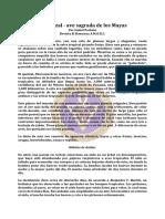 Quetzal, ave sagrada de los Mayas, El  - Mar83 - Isabel Perkins.pdf