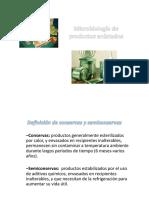 Microbiologia de Productos Enlatados