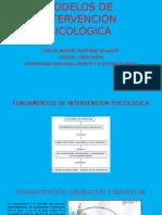 Modelos de Intervención Psicológica