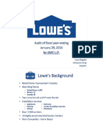 lowes ppt