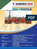 Company Profile Samgeo 2016