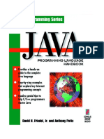 9af7beedde Java Programming Language Handbook 1