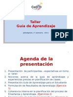 PPT TALLER GUÍAS 2°2013