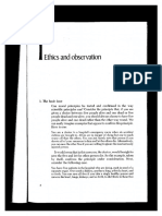 Harman Ethics and Observation