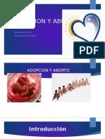 Adopcion y Aborto