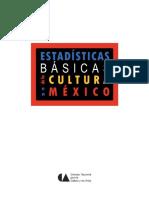 Estadisticas Básicas de Consumo Cultural, México 2012