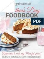 Mothers Day Foodbook eBook 2016