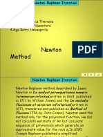 Newton RAphson Methode