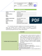 Formato de Entrega de Puesto de Trabajo- 27 de Mayo de 2016