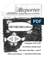 UFO Reporter - Volume 1, Number 3 (September 1992)