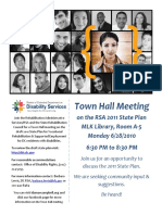 DC RSA Town Hall Meeting Flyer June 28, 2010