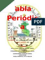 5º Informe de Lab. de Química - Tabla Periodica