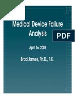 Med Device Failure an Alys s Jsu