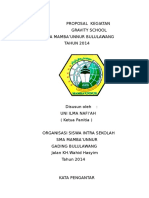 Proposal Kegiatan Gravity School