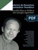 Agamben_resumos Seminario Politica