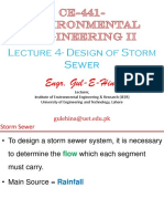 Lec 4-Week 2-(Design of Storm Sewer)