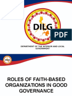 Roles of Fbos in Good Governance