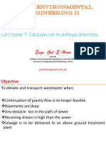 Lec 7-Week 4- ( Design of Pumping Station)