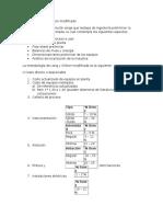 Metodo de Lang y Chilton Modificado