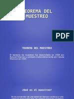! Teorema Del Muestreo