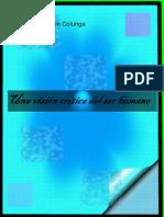 Una Vision Critica Del Ser Humano