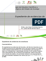 2.-Presentacion Expediente de Evidencias
