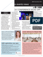 Business Events News for Mon 28 Nov 2016 - PCOA Conference, Wanda Vista, Perth Convention Bureau, AIME registrations, hotel boom, MCEC