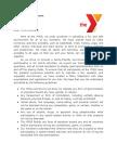 ymca policy statement