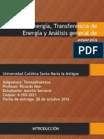 Diapositivas de Termodinamicas