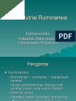 1. Nutrisi Ruminansia_Pengantar