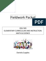 edu 505 fieldwork