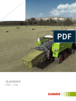 Claas Quadrant 2100 Manual