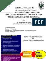 1. Dr. Supriyantoro, Sp.P, MARS