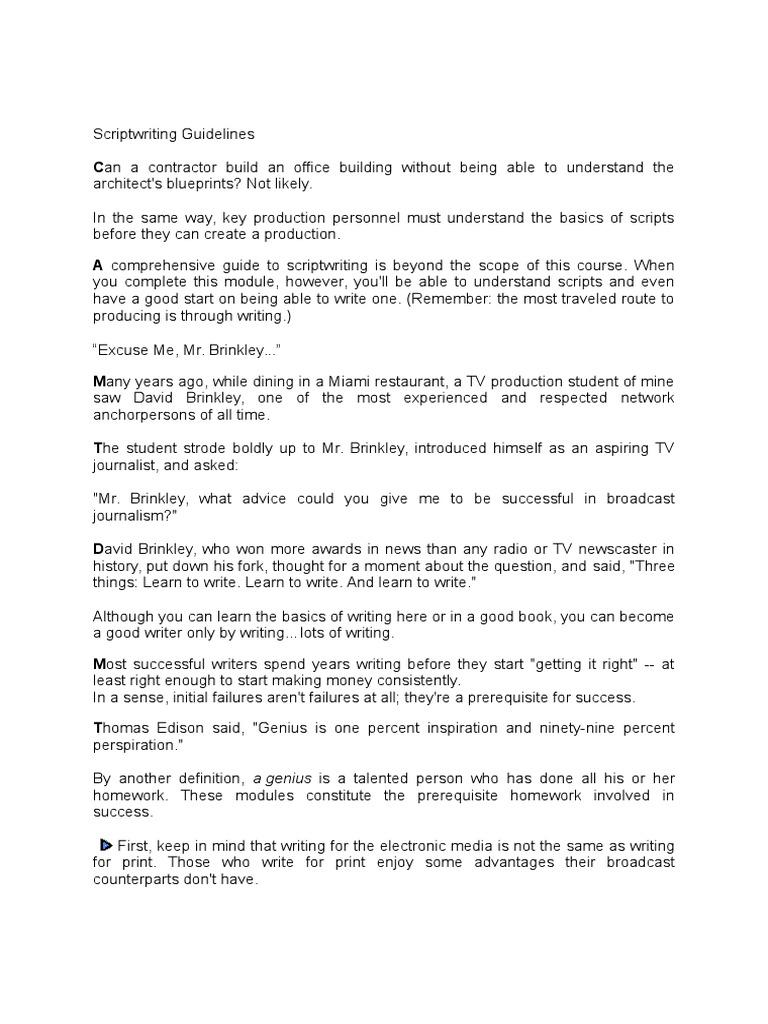 17  8p Scriptwriting | Verb | Adjective