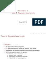 Estadistica- Regresion Lineal