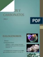 Mine 2016 (Haluros y Carbonatos)