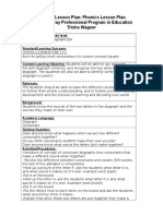 phonological lesson plan