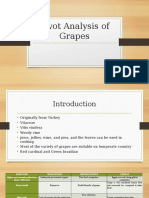 Swot Analysis of Grapes