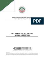 Ley Ambiental Del Estado de San Luis Potosi
