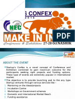 Make in India - Startups Confex 2015 Nashik